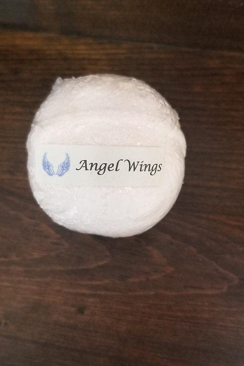 Angel wings bath bomb