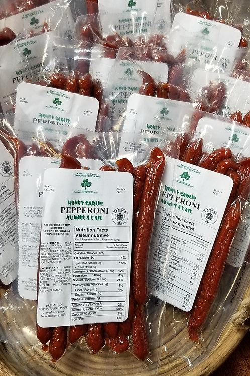 Cloverleaf Honey Garlic Pepperettes (300g)