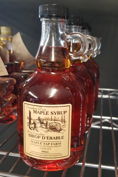 Maple Syrup, 500mL, Amber