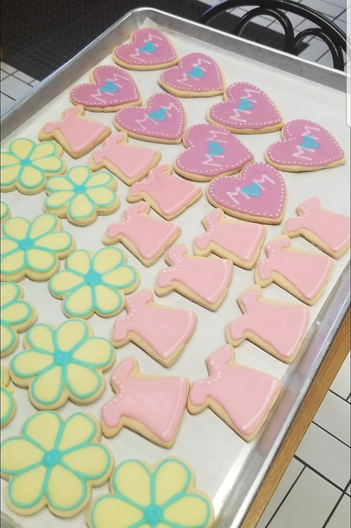 Mother's Day - 3 Sugar Cookies  (SUNDAY MAY 9 4:45-6:00 IS BOOKED)