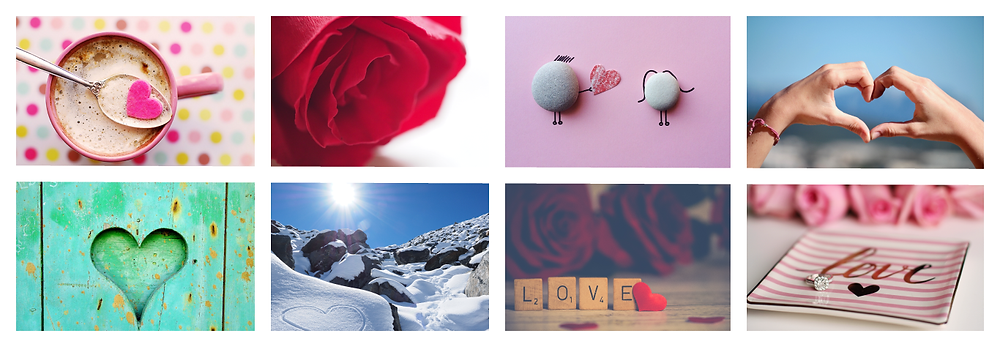 Royalty-Free Valentine's Images for Social Media