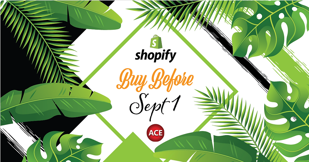 Shopify-ACE Integration Price Increase Sept 1