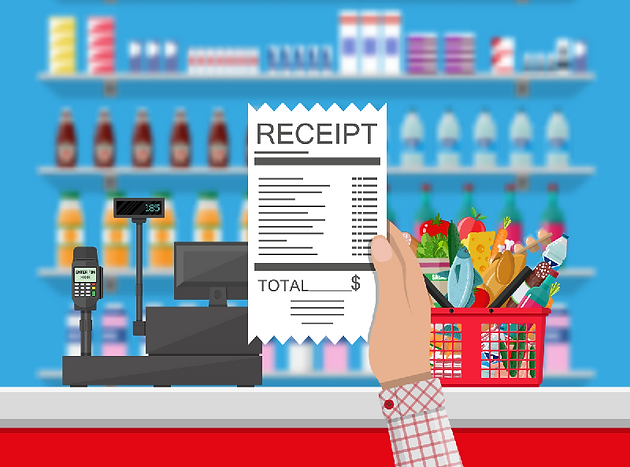 Take advantage of valuable promotional space on your receipts