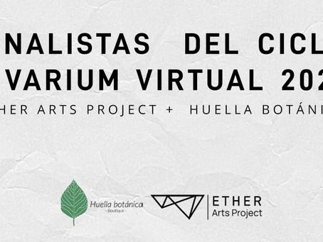 Vivarium virtual sigue creciendo: listado de artistas seleccionados para el ciclo 2021