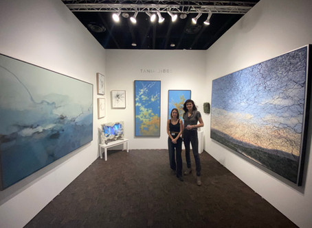 ASPEN ARTIST TANIA DIBBS DEBUTS AT ART PALM SPRINGS 2020 WITH ETHER ARTS PROJECT