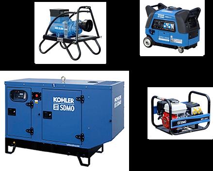 - Groupe électrogène industriel - Groupe électrogène portable - Groupe de soudage - Groupe motopompe