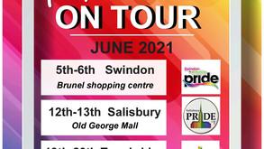 Pride Pop-Up Shop on tour