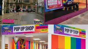 Pride Pop-Up Shop: We're going on tour! Swindon - Salisbury - Trowbridge