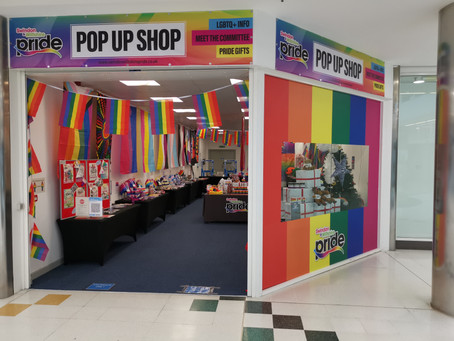 Pride Pop up shop