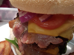 WHO FANCIES ONE OF OUR STACKED BURGERS,