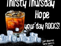 THIRSTY THURSDAY AT YOUR FAVOURITE WASHI