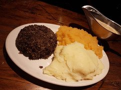 BURNS NIGHT HERE AT THE BLUE BELL WASHIN