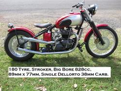 180 Tyre Bobber