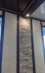 фото ремонт декоративный кирпич