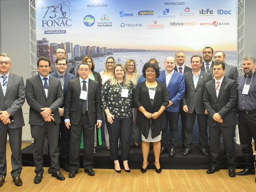Abertura Oficial do 73º FONAC em Fortaleza-CE destaca os avanços na gestão da cidade.