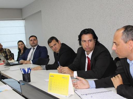 FONAC e ABRASF se reúnem para discutir PEC da Reforma da Previdência.