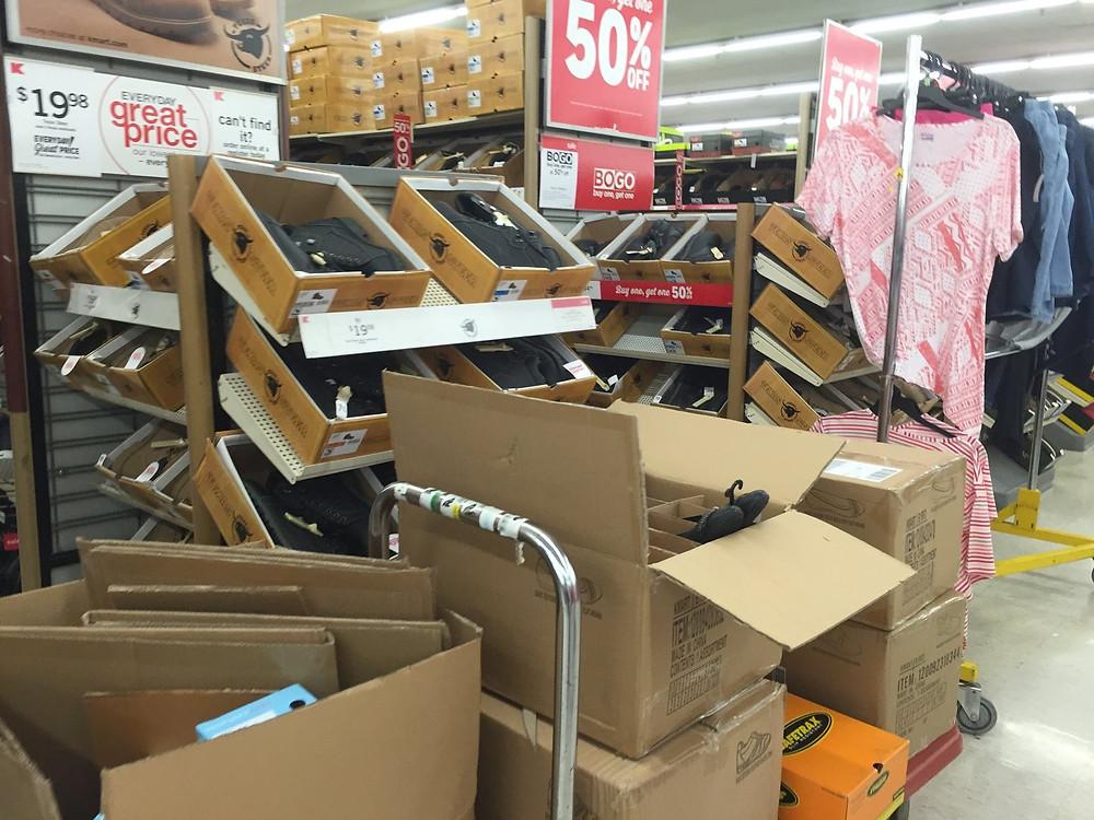 K-Mart - Store Upkeep