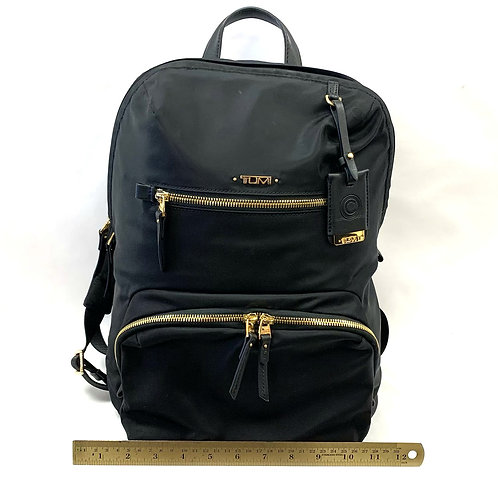 Black Nylon Tumi Backpack