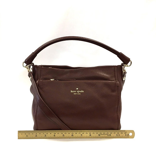 Brown Leather Kate Spade