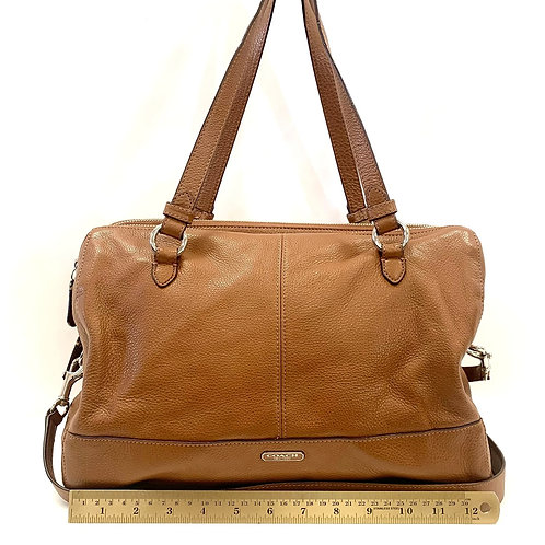Brown Leather Coach
