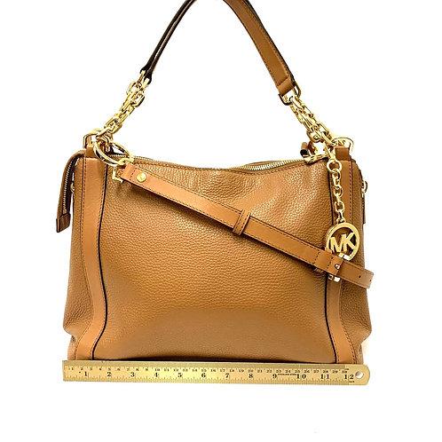 Camel Leather Michael Kors Handbag