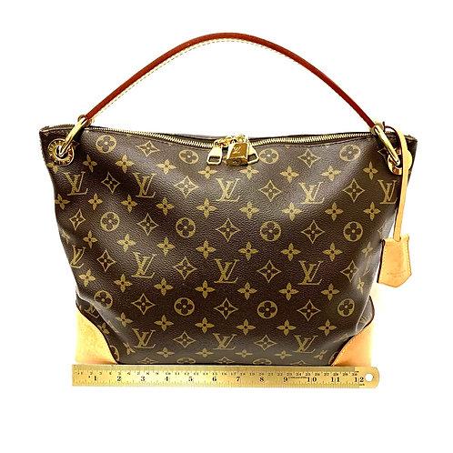 Monogram Louis Vuitton Berri MM Shoulder Bag