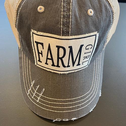 Farm Girl Baseball Cap