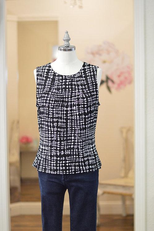 Size Small Black and White Calvin Klein