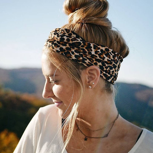 Animal Print Wide Headband
