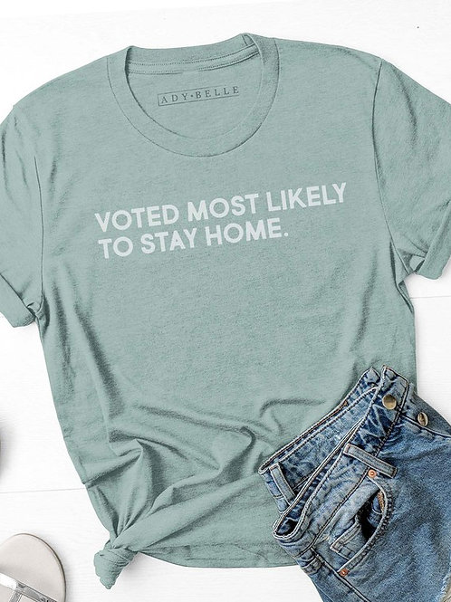 Voted most likely... T-shirt