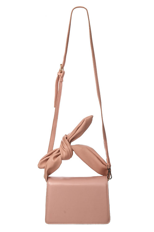 Blush Knot Handbag