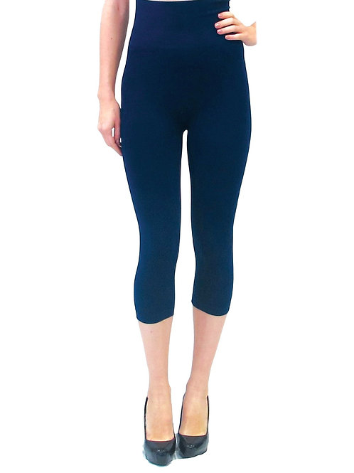 One Size High Waisted Cropped Leggings