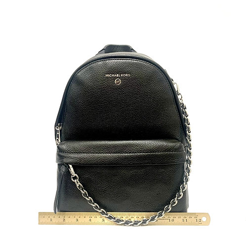 Black/Silver Slater Michael Kors Backpack