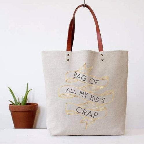 """""""Bag of all my kids crap"""""""