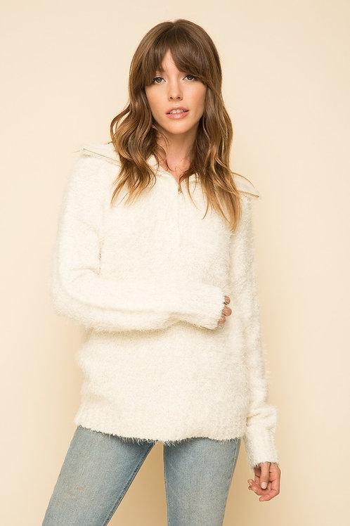 Cream Pullover Sweater