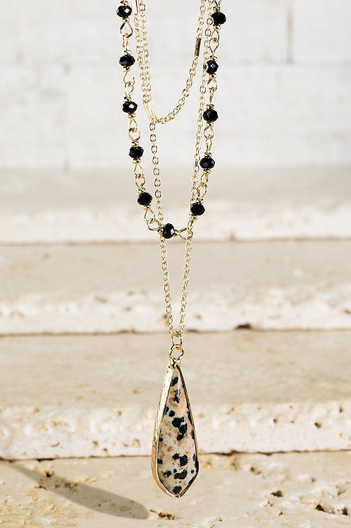 Dalmation Layered Necklace