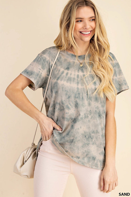 Ally - All Over Tie Dye Tee