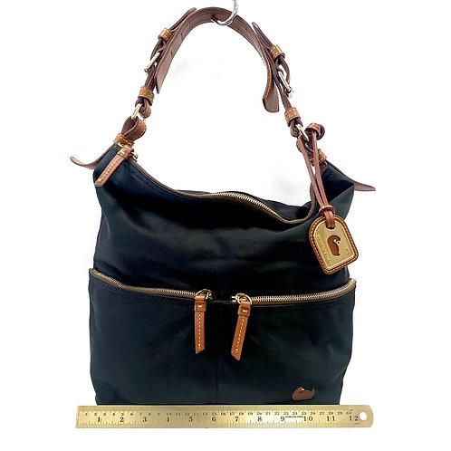 Black Nylon Dooney & Bourke Shoulder Bag