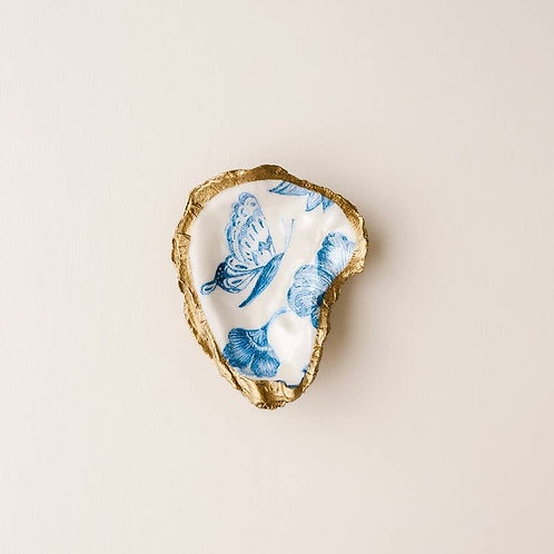Butterfly Oyster Shell Jewelry Dish