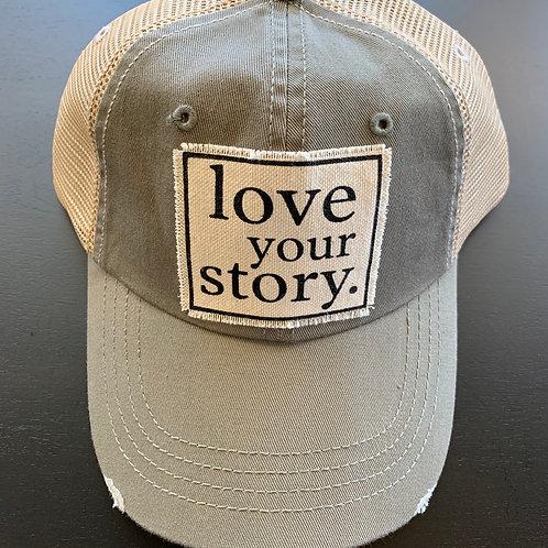 Love Your Story Baseball Cap