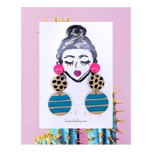 'Barbie Jaguar' Earrings