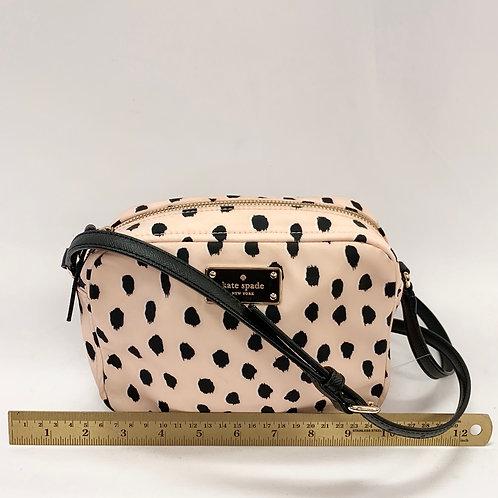 Peach /Black Nylon Kate Spade