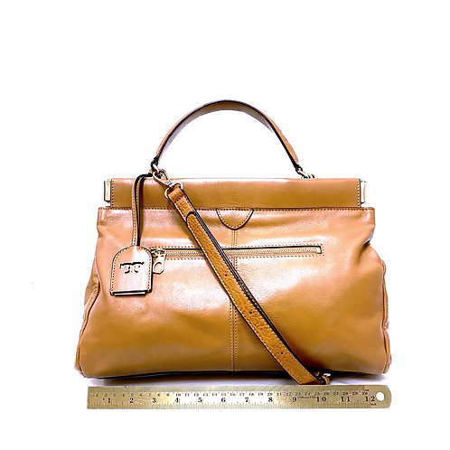 Camel Leather Tory Burch
