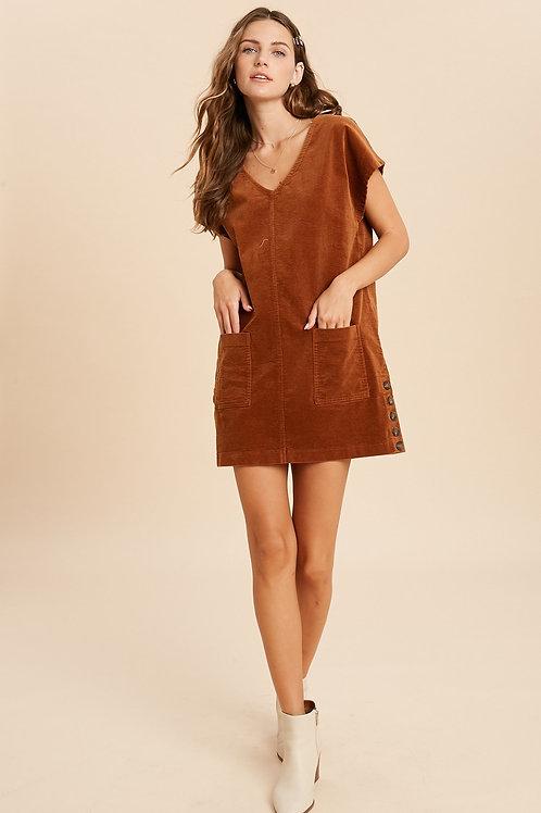 Gucci Corduroy Dress