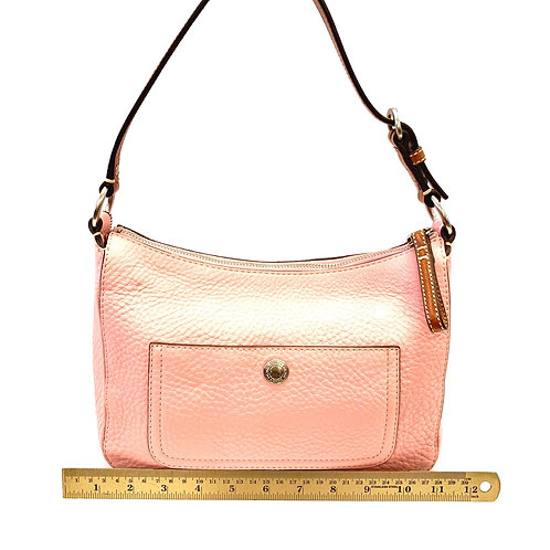 Pink Leather Coach