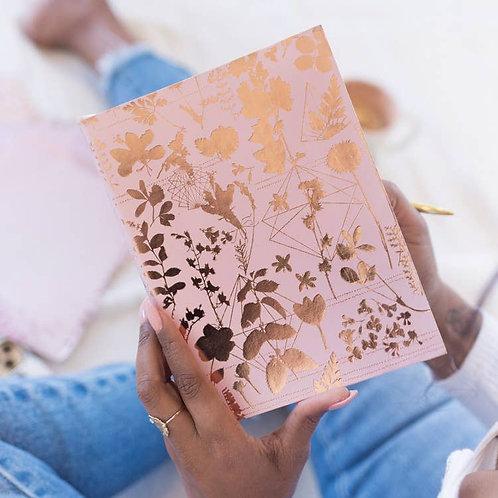 Pink Floral Sketchbook