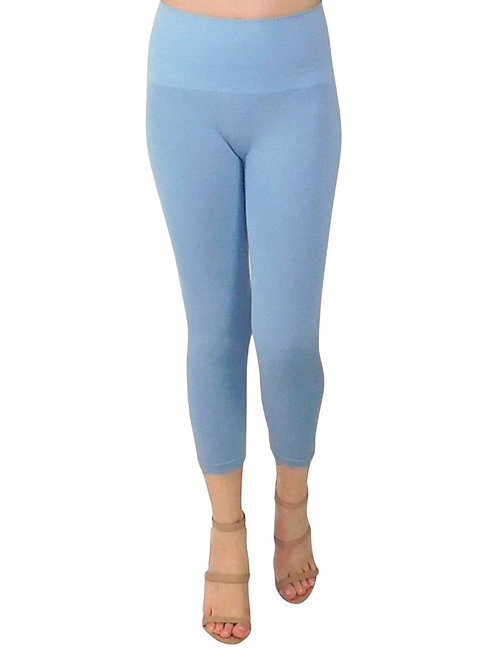 One Size High Waisted Cropped Jeggings
