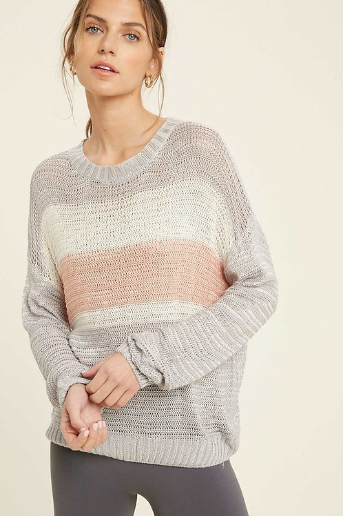 Julia - Knit Stripe Sweater