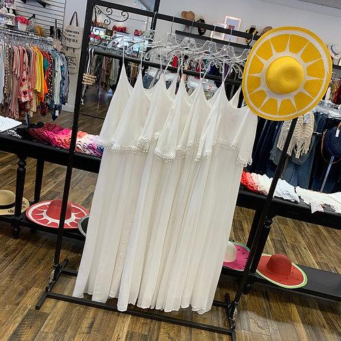 White Long Dress