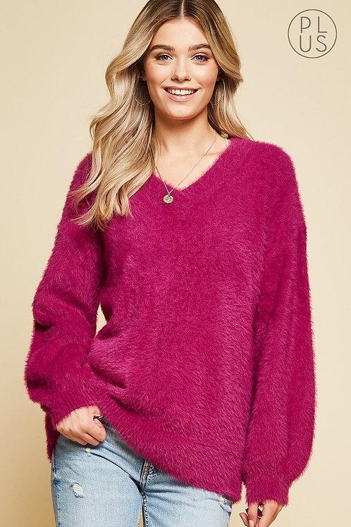 PLUS // Cozy Sweater